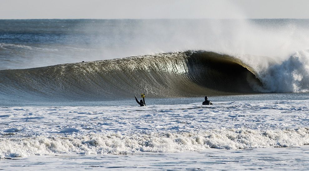 New Jersey Surfers Surfing Surfs Up Beach