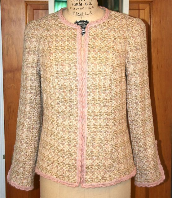 More Tips On Sewing A Chanel Inspired Jacket