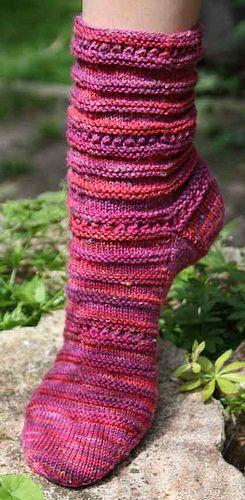 Sockenmuster | Fußkleider | Pinterest | Sockenmuster, Stricken und ...