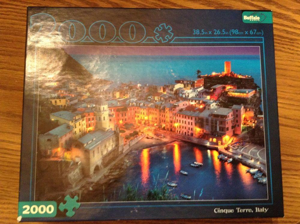 b2e83a59ce30 CINQUE TERRE ITALY - Buffalo Games-2000 Piece Jigsaw Puzzle 38