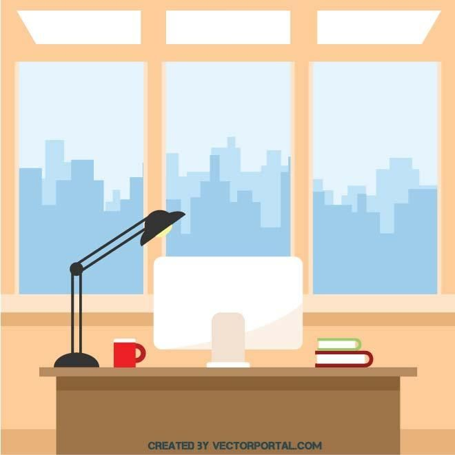 Office Interior Vector Supo