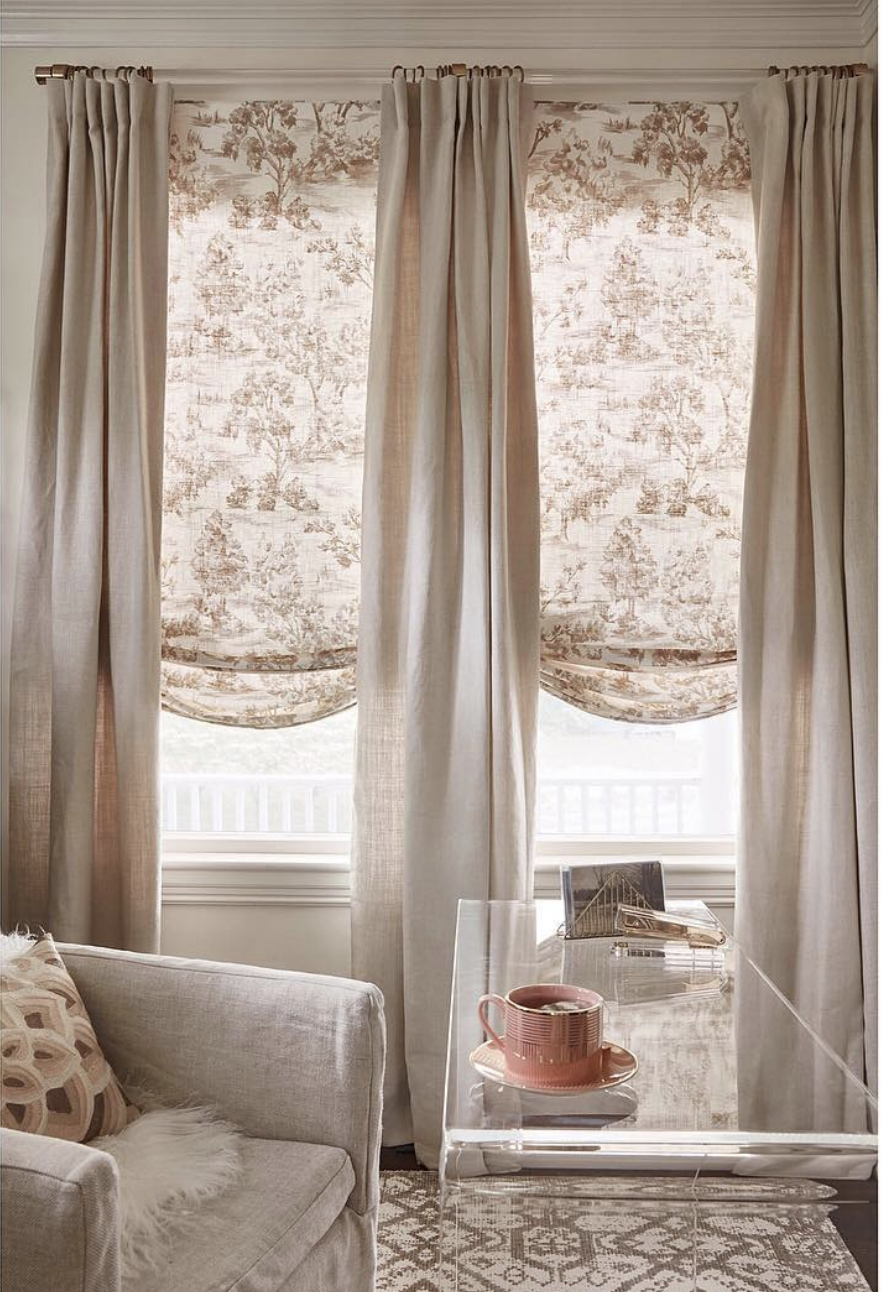 Pin By Joan Manzella On Living Room Traditional Home Office Traditional Living Room Belgian Linen Curtains #traditional #living #room #window #treatments