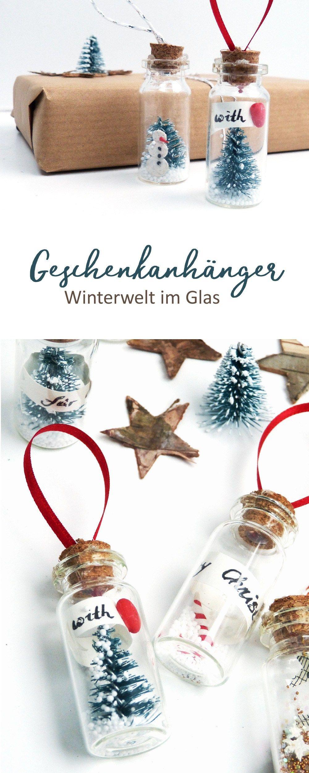 Männer Weihnachtsdeko.Geschenkanhänger Im Miniglas Holly And Jolly Geschenkanhänger