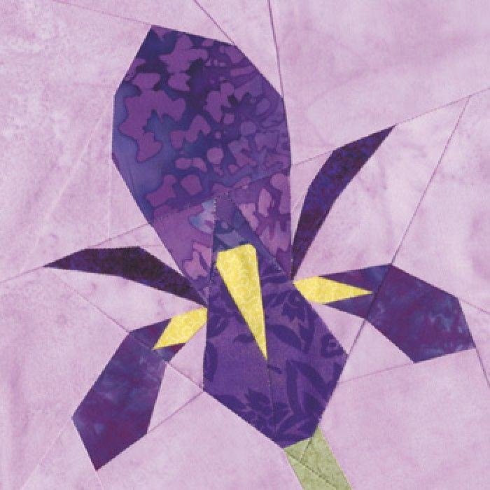 Paper pieced flower patterns free ukrandiffusion paper pieced flower patterns free carnation quilt block may iris quilt block pattern quilts mightylinksfo