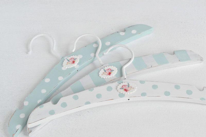 Kleiderbugel 3er Set Kinder Baby Kleiderbugel Shabby Chic