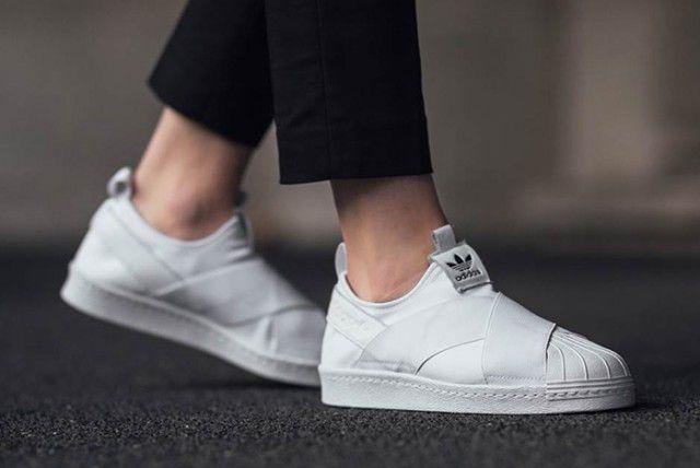 ADIDAS SUPERSTAR SLIP ON - Sneaker Freaker | Adidas superstar slip ...