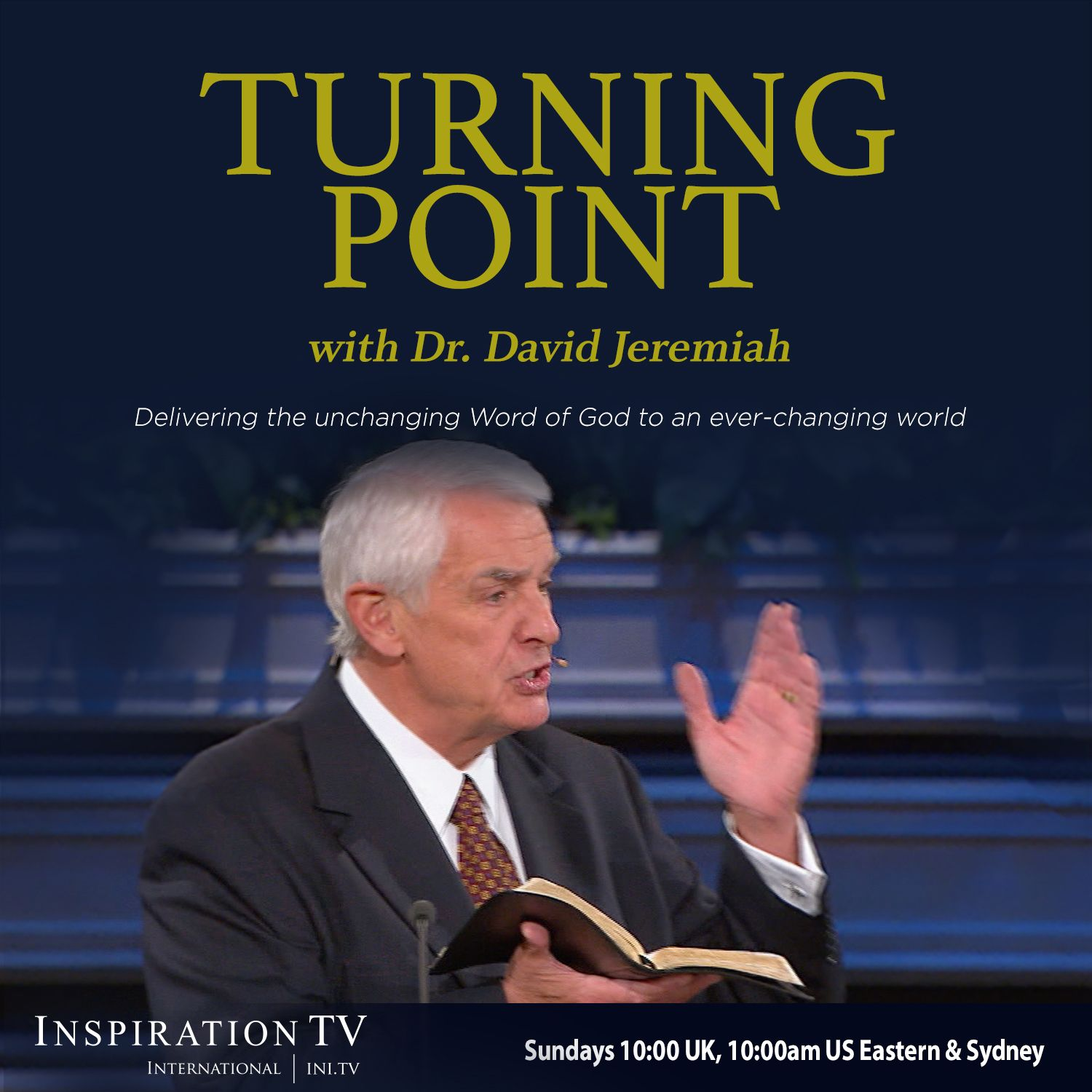 dr. david jeremiah helps others discover life-changing turning