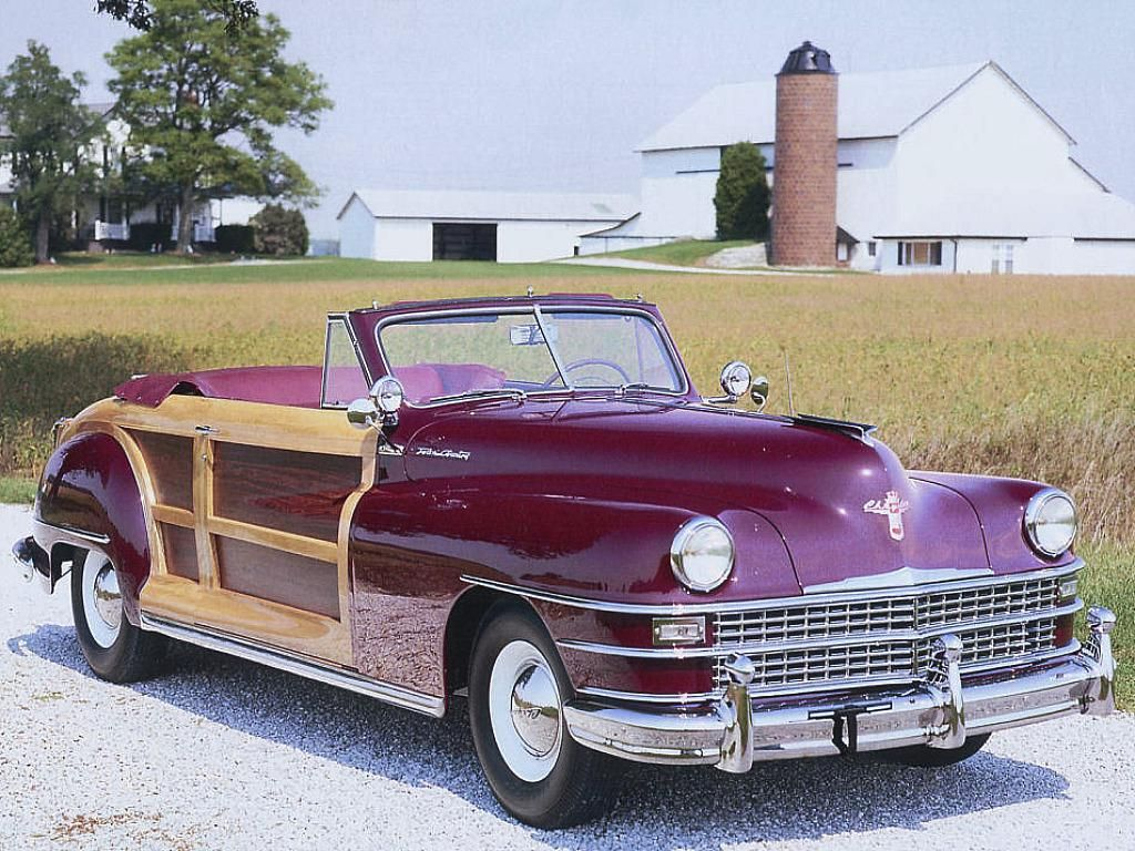1946 Chrysler Town & Country Convertible | Classic Woody ...