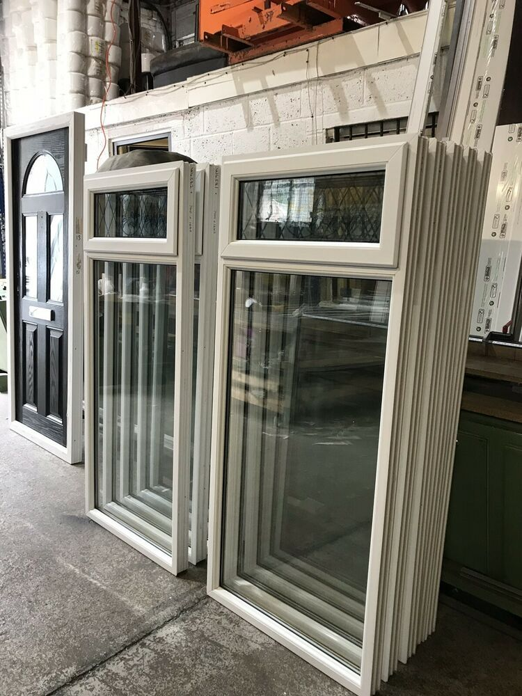 Second Hand Upvc Windows, 740mm Wide By 1640mm Height