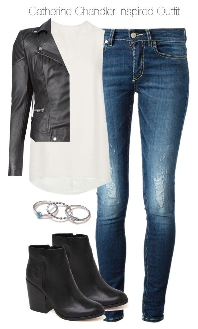 """""""Beauty & the Beast - Catherine Chandler Inspired Outfit"""" by staystronng ❤ liked on Polyvore"""