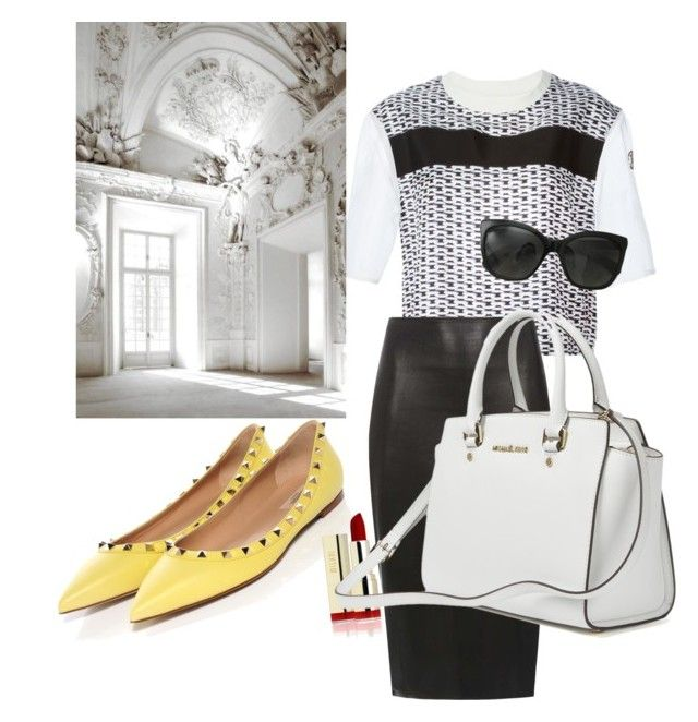 """""""Untitled #8"""" by missozlems ❤ liked on Polyvore featuring Moncler Gamme Rouge, Dorothy Perkins and Chanel"""