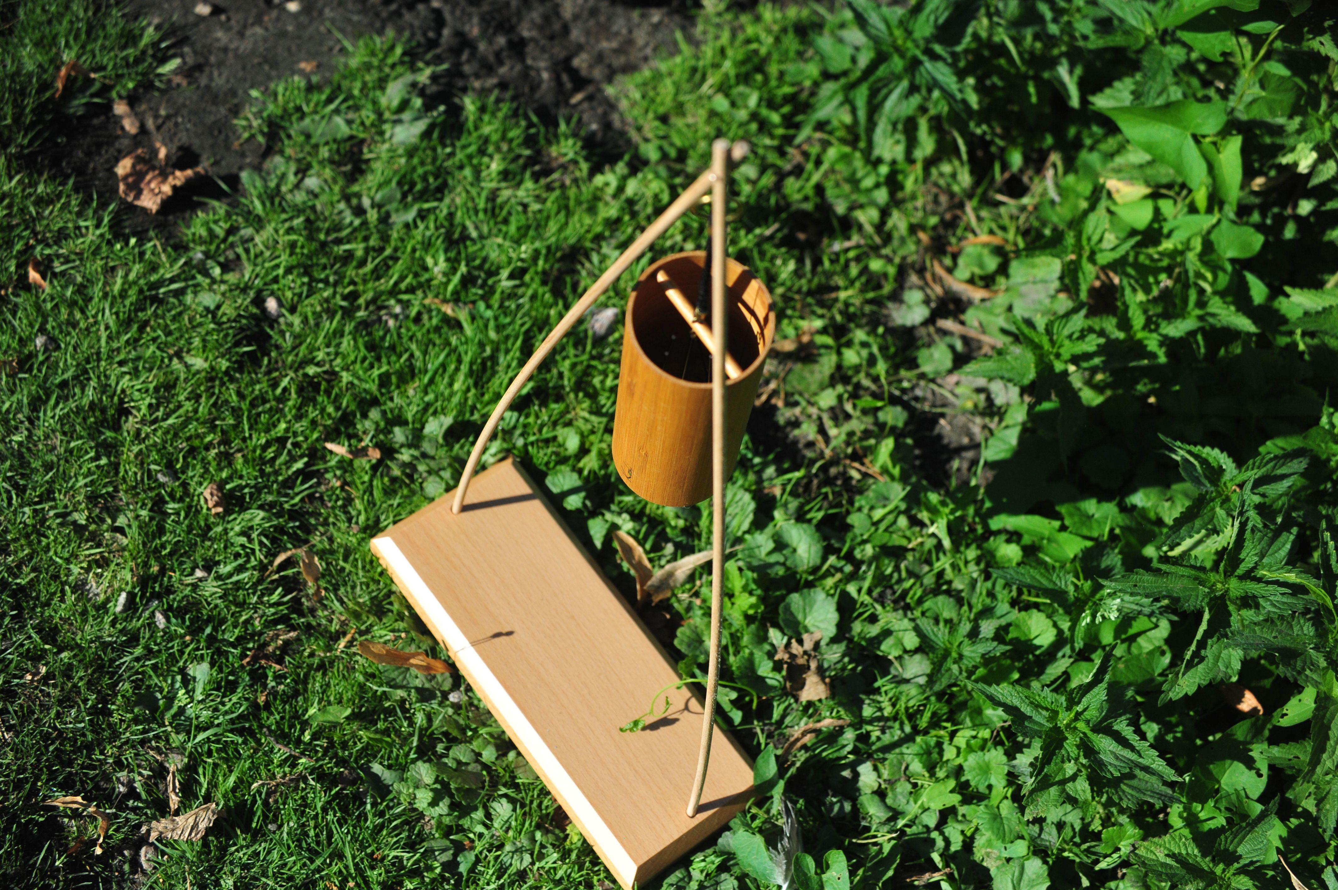 Klangspielstander Modell Tipi Windspiele Klangspiel Und Haus Und Garten