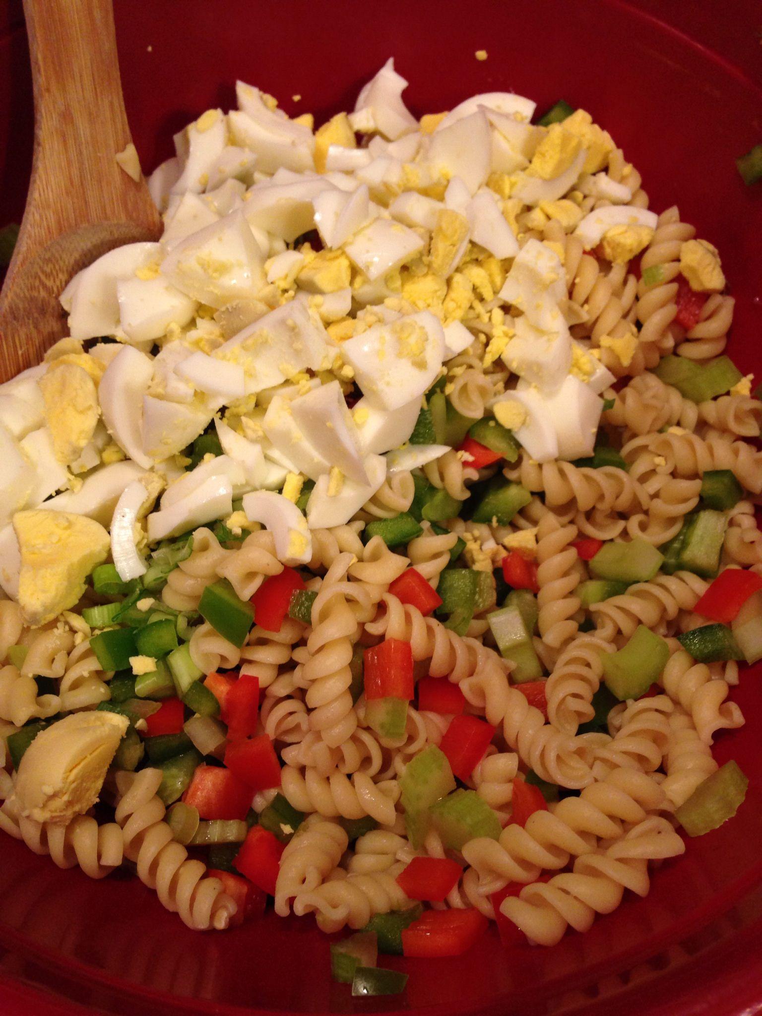 Festive Pasta Salad (THM S)   Recipe   Pasta salad, Pasta, Summer side dishes