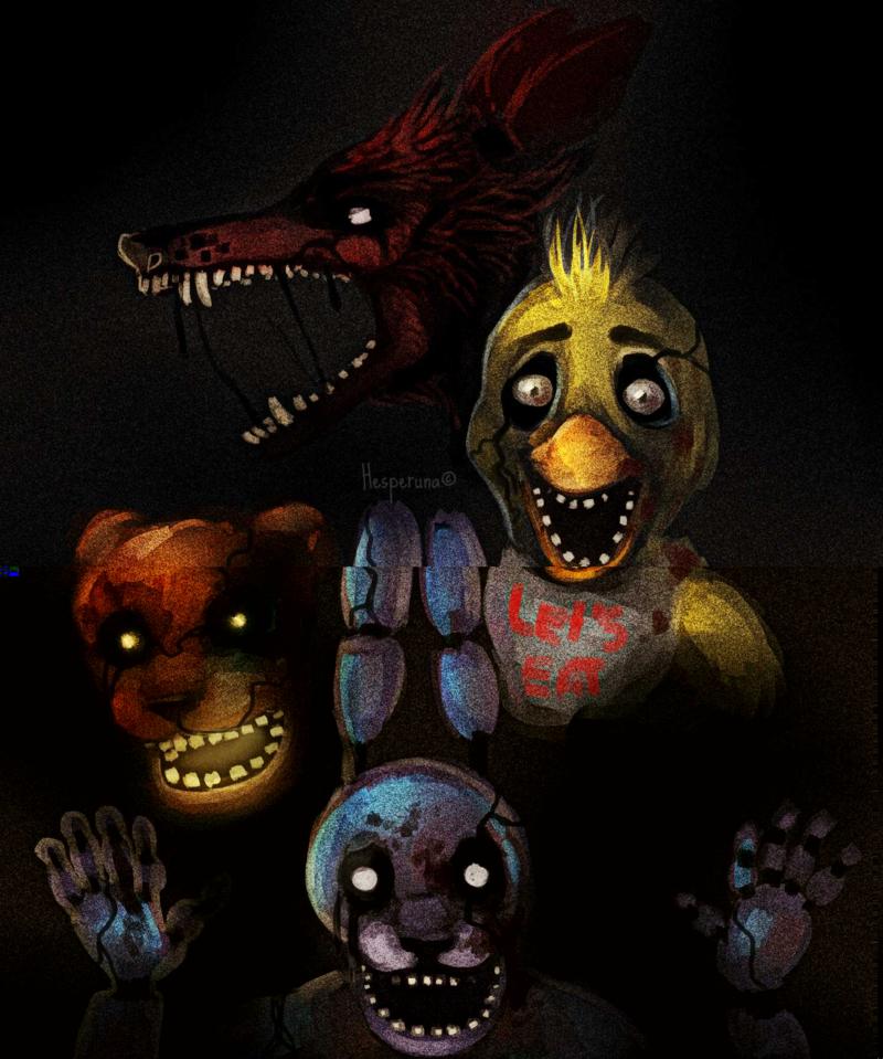 Five Nights At Freddy's By Hesperuna On DeviantART