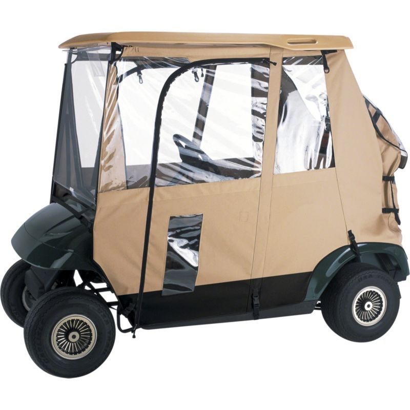 Cool Classic Accessories Fairway Deluxe Short Golf Cart Enclosure Caraccident5 Cool Chair Designs And Ideas Caraccident5Info