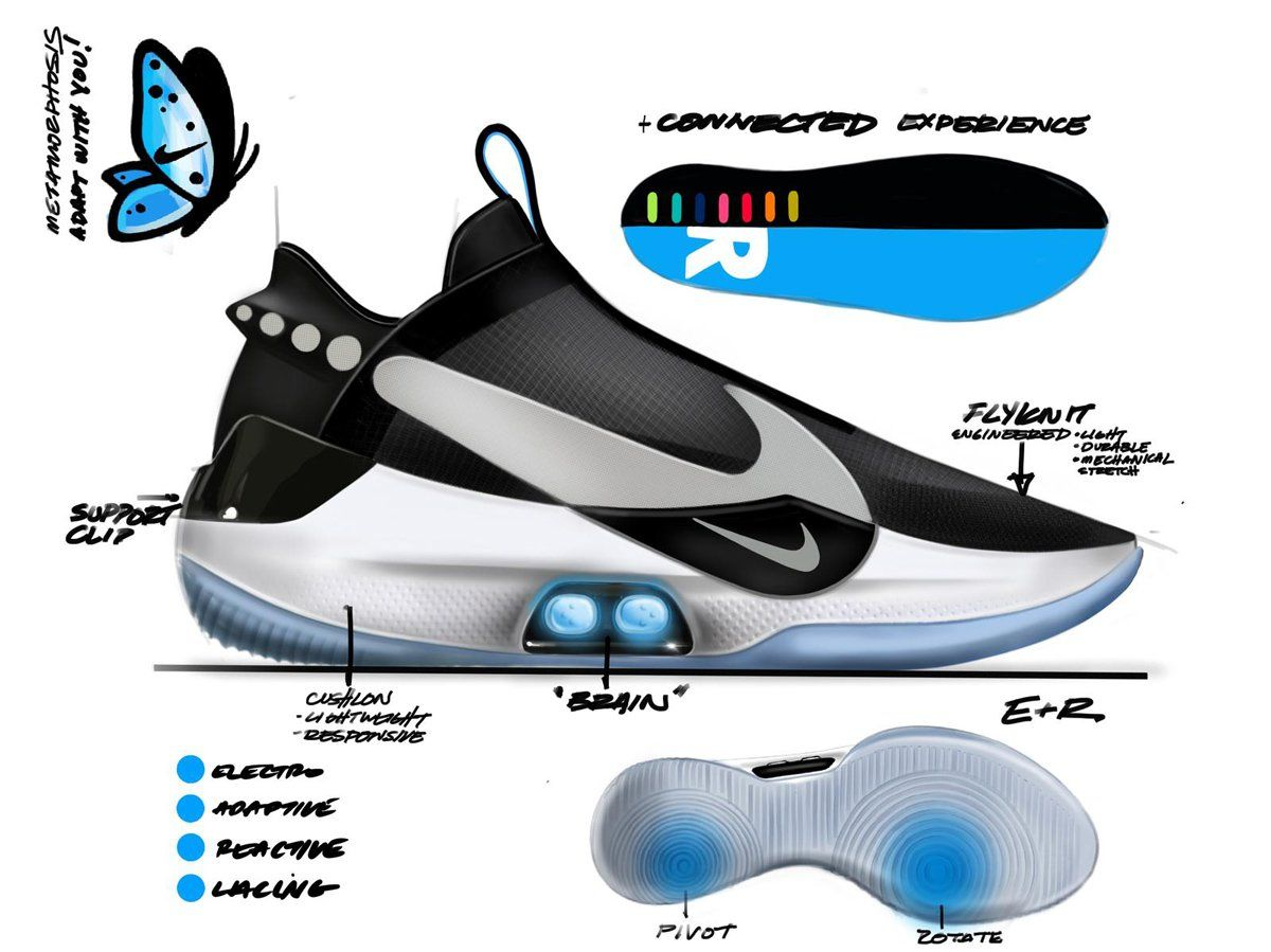 NIKE's self lacing sneakers can be controlled from your