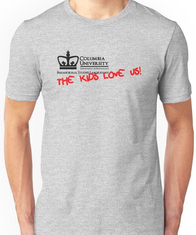 a480d15e0a1 Columbia University Department of Psychology, Paranormal Studies  Laboratory. Unisex T-Shirt