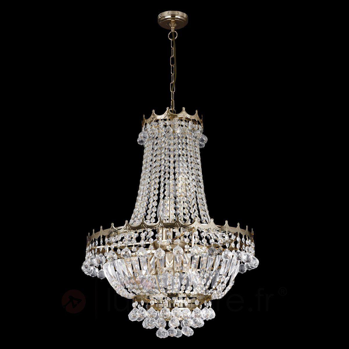 lustre cristal impressionnant versailles salon principal. Black Bedroom Furniture Sets. Home Design Ideas