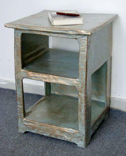 Make Your Own Papier Mache Nightstand Cardboard Furniture Diy