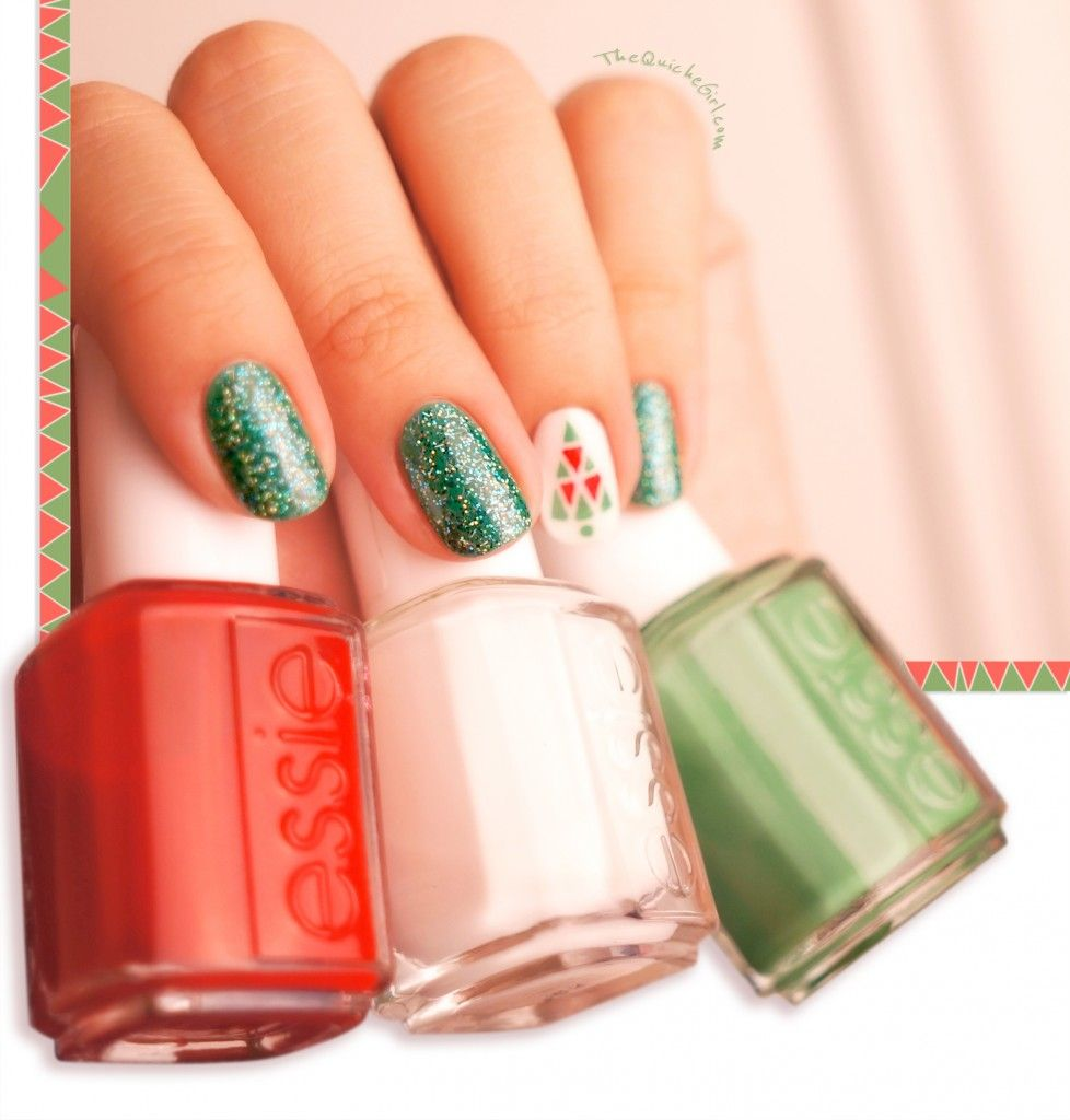 deer, QuicheGirl,  essie, christmas