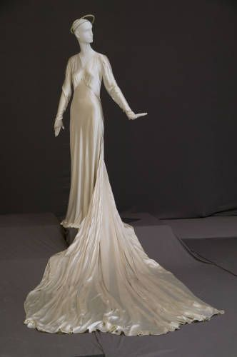 Wedding Dress 1938 The Chicago History Museum