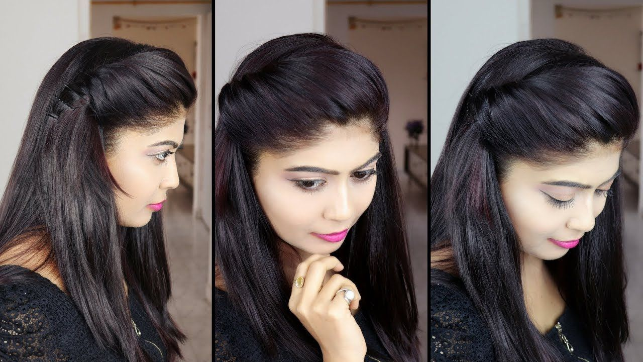 how to make side puff hairstyle | 1 minute side puff