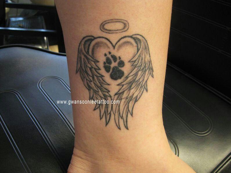 Pin By Jens Meurer On Tattoo: Pfoten Tattoo, Hunde Pfoten