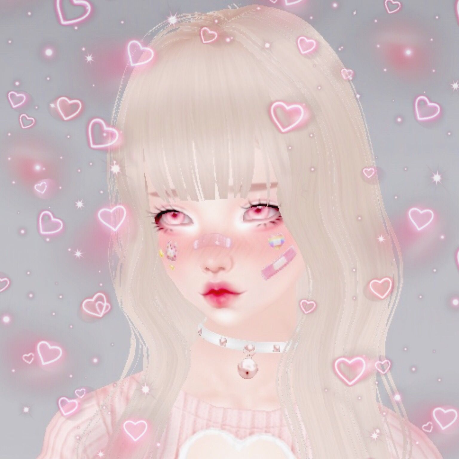 Baby Pink Aesthetic Icons