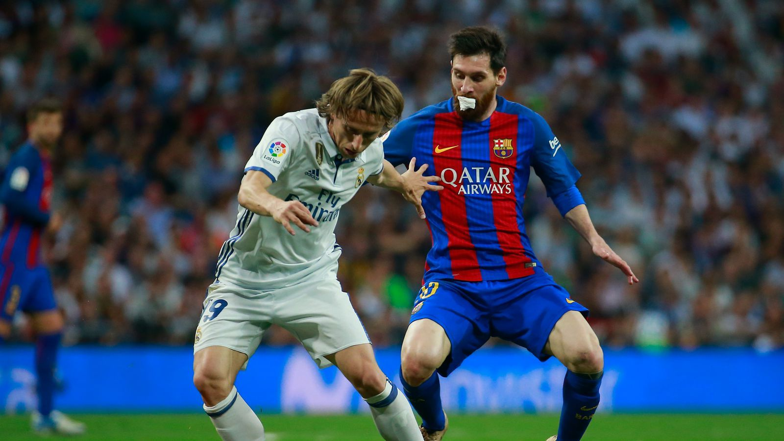 Supercopa De Espana 2nd Leg Barcelona Vs Real Madrid Luka Modric