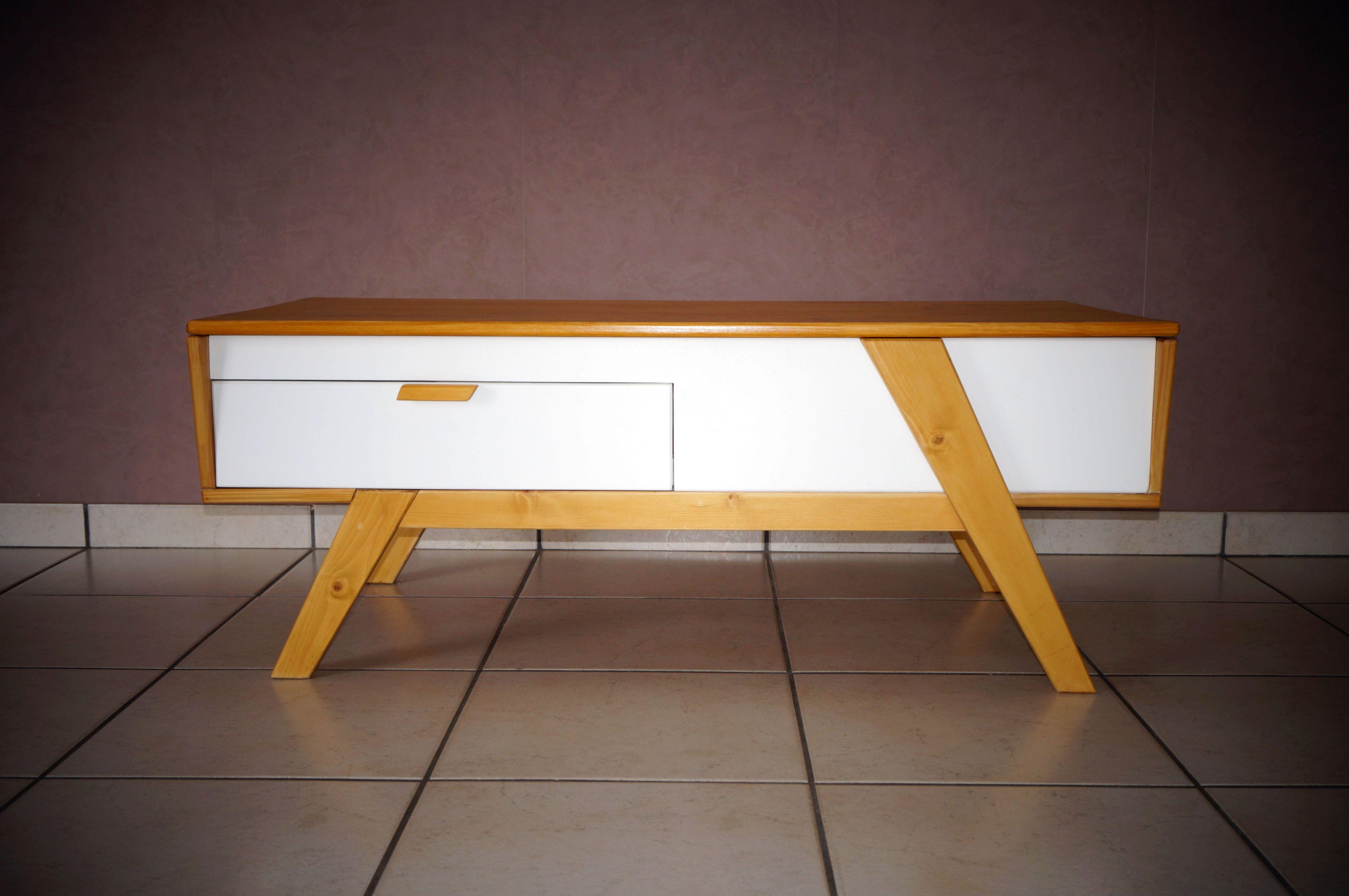 Table Basse Scandinave Plateau Relevable Instructions De