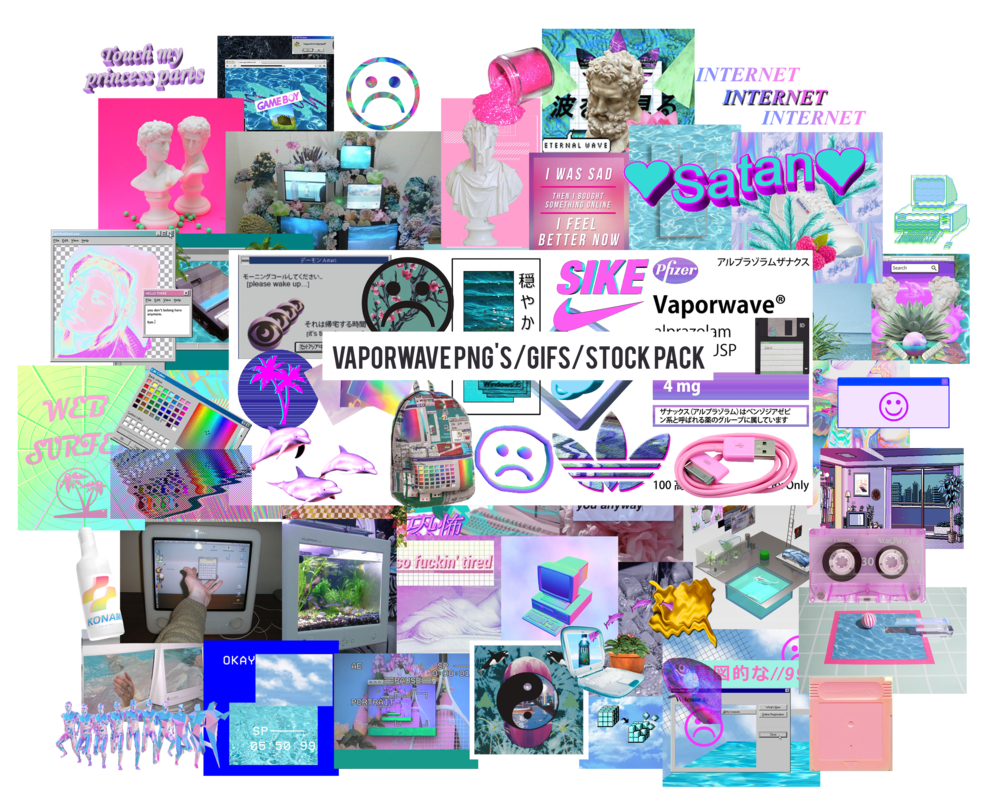 This gif has everything glitch pixel art graphic design vaporwave - This Pack Contains Png Gifs And Images