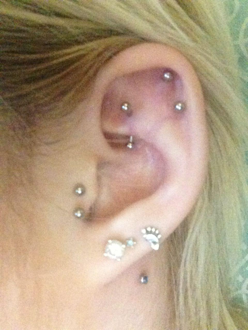 Cute lip piercing ideas  Neck piercing ear piercings  Earrings  Pinterest  Plugs Beauty