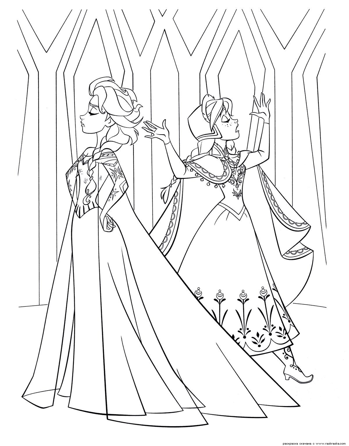 Printable coloring pages violetta - 35 Free Disney S Frozen Coloring Pages Printable Free Printable Coloring Pages For Kids Coloring Books