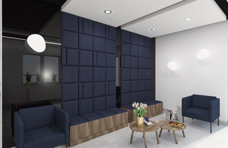 Wnętrza, siedzisko tapicerowane - zainspiruj się i ...