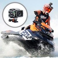 Snap! By MacMall  | 16MP 4K Wi-Fi Action Camera can Stream to iPhone out to 328 feet