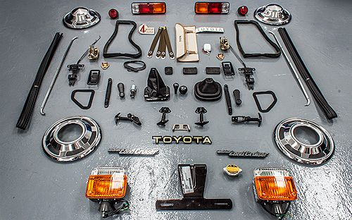 OEM parts for a 1976 FJ40 | Toyota Land Cruiser of the day