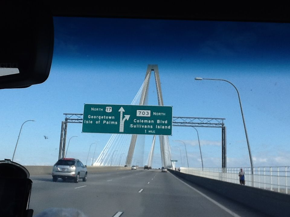During our visit to Charleston.