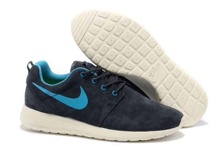 nike en ligne - Explore Nike Roshe Run Suede Mens-Black Friday Black White Red ...