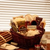 The Essence of Lavender Spa Gift Basket $99.99 Same Day Delivery on most holiday gift baskets