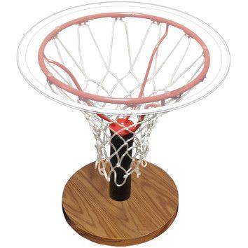 Spalding Basketball Rim End Table