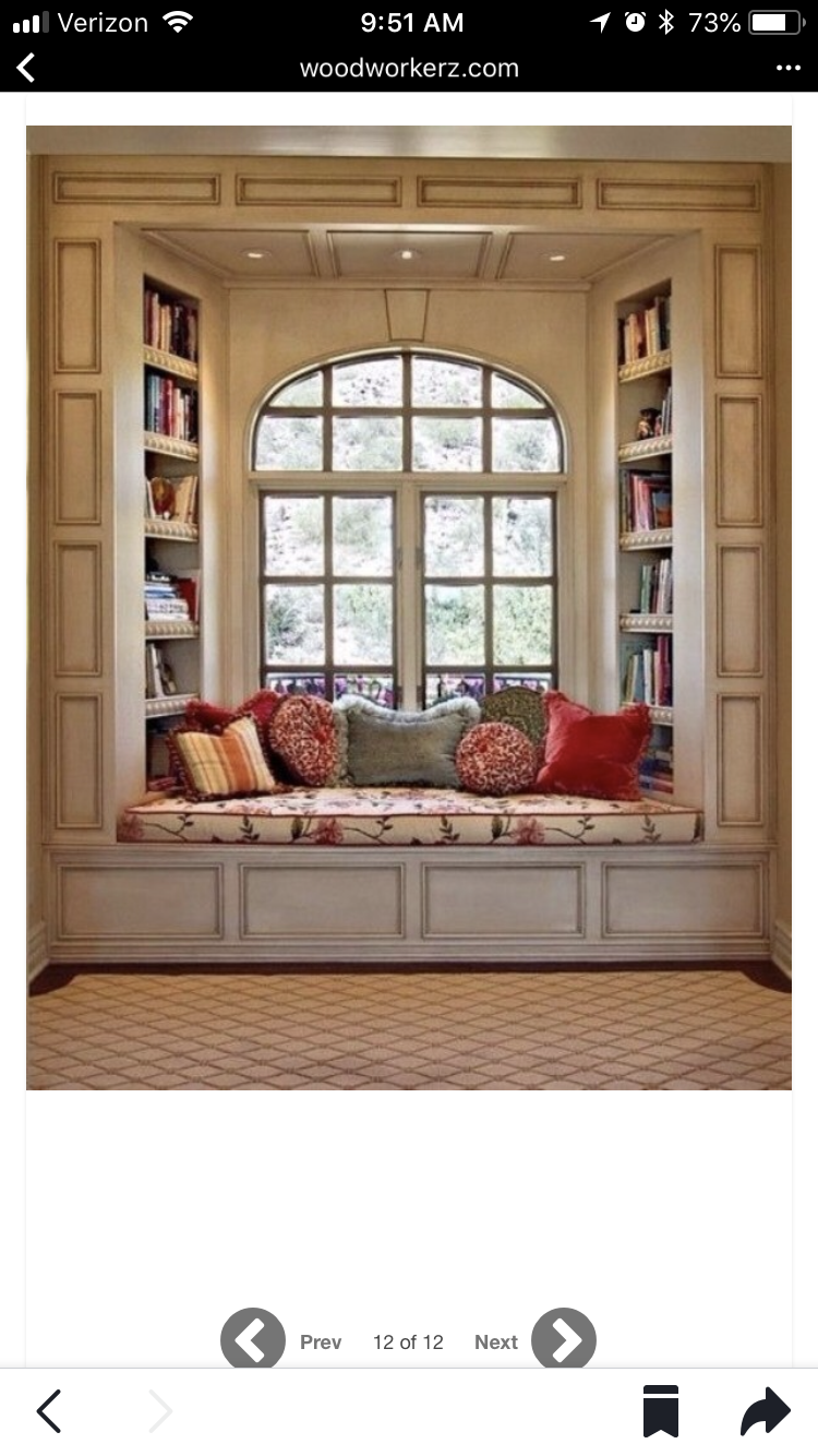 Window seat molding | Home, My dream home, House interior