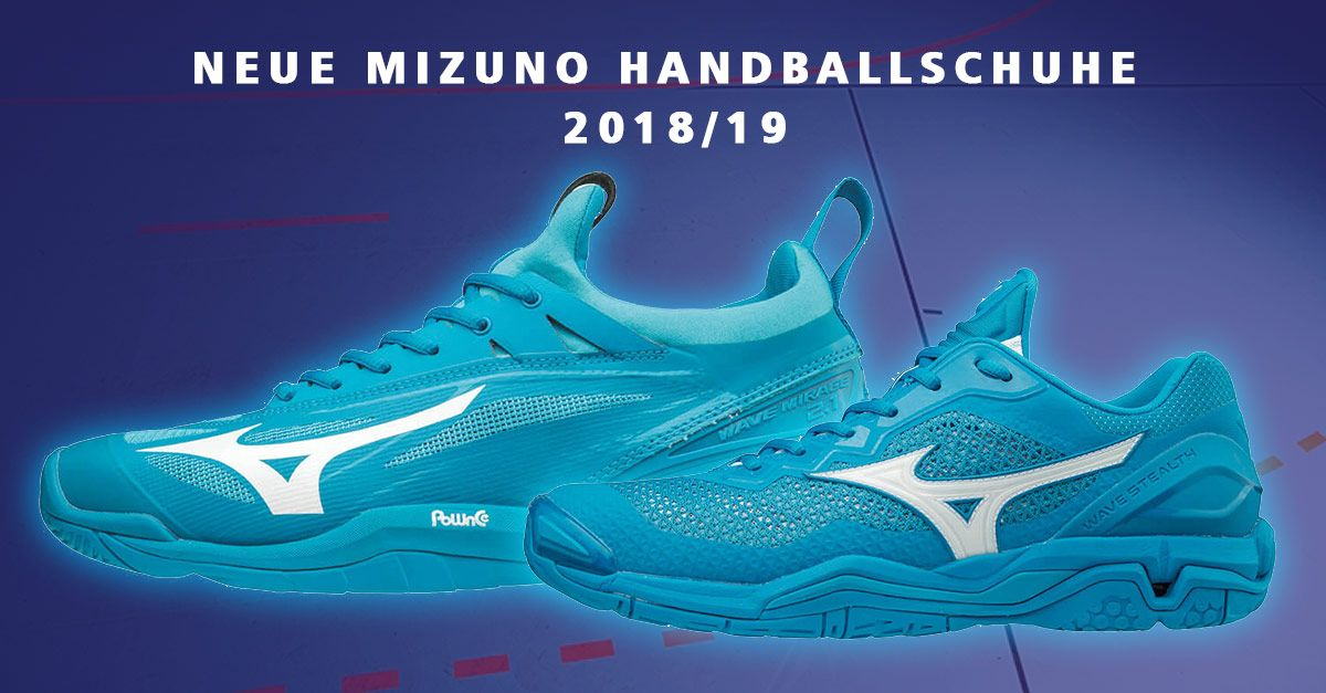 Die Neuen Mizuno Handballschuhe Fur Herren 2018 19 Sind Da In Blue Jewel Erscheinen Der Neue Wave Stealth V Mirage 2 1 Jetz Handball Schuhe Handball Schuhe