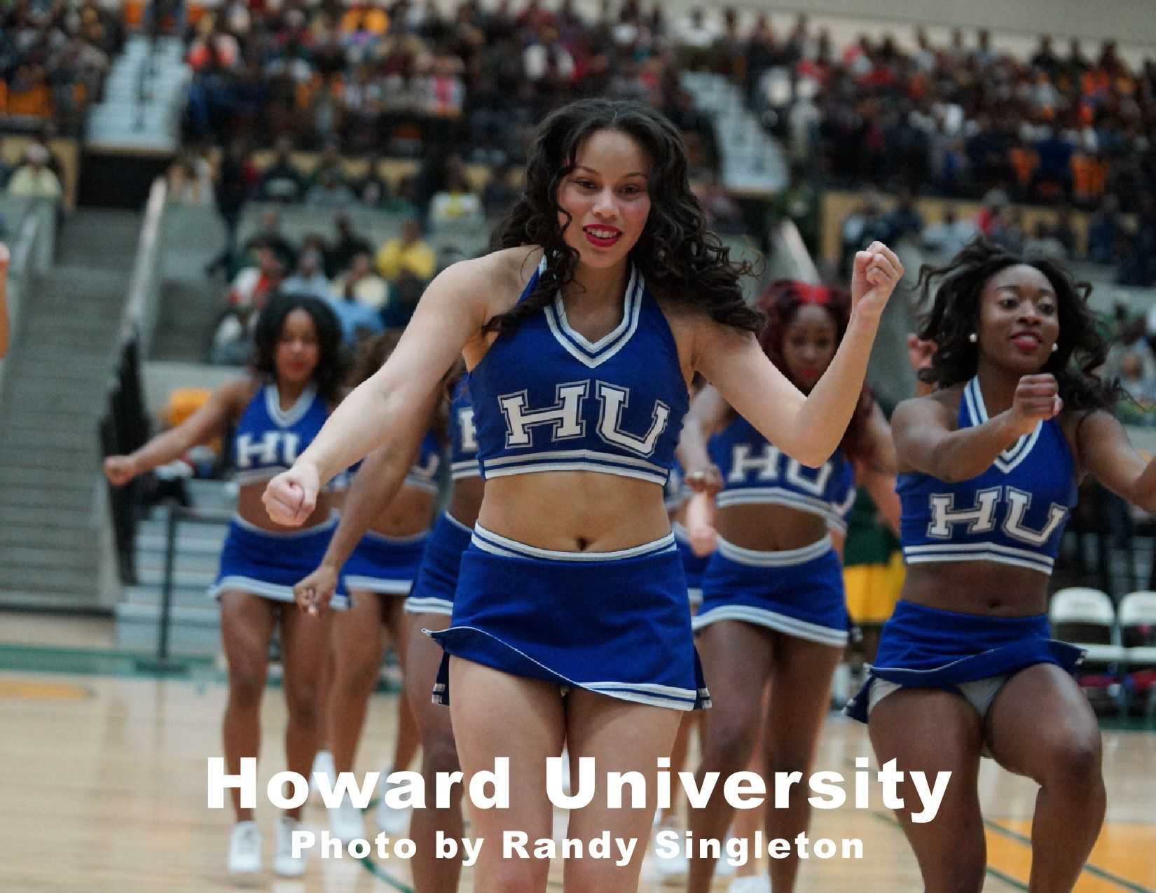 howard university cheerleaders dream big photos howard university