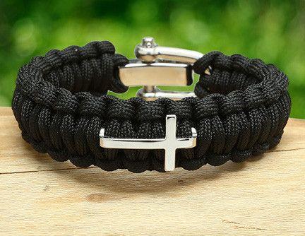 Regular Survival Bracelet Cross With Images Survival Straps