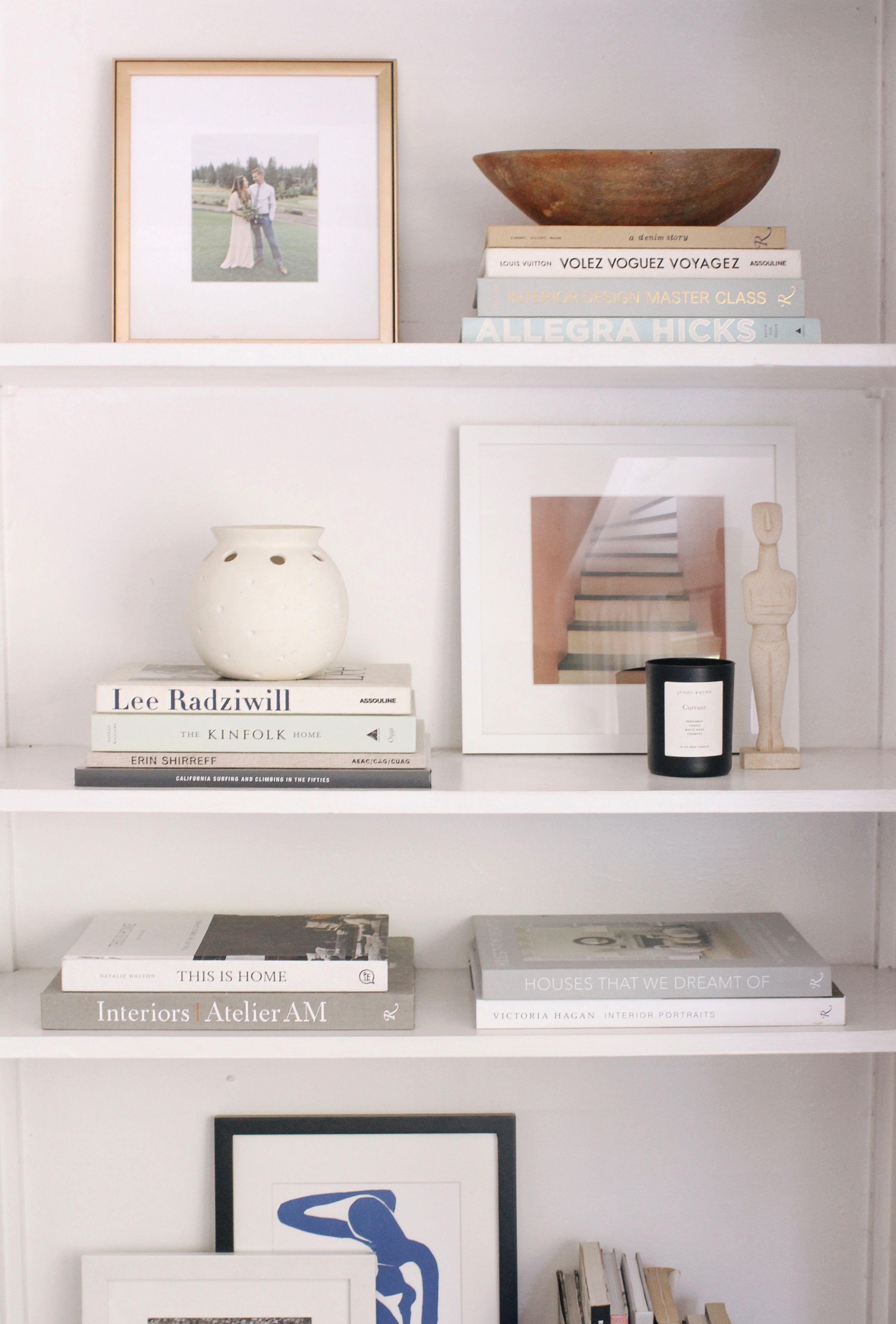 Easy Steps For Shelf Styling En 2020 Con Imagenes Decoracion