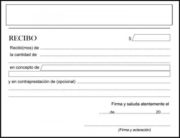 Cómo hacer un recibo de dinero (ejemplos) ELEMENTOS VARIOS