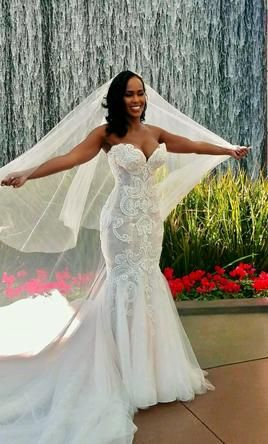 aca5dfd3c45a Used Steven Khalil Custom Wedding Dress $7,000 USD. Buy it PreOwned now and  save 50% off the salon price!