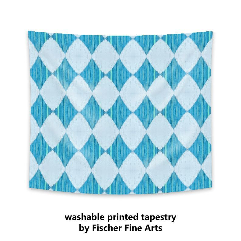Ikat Style Wall Tapestry in assorted colors