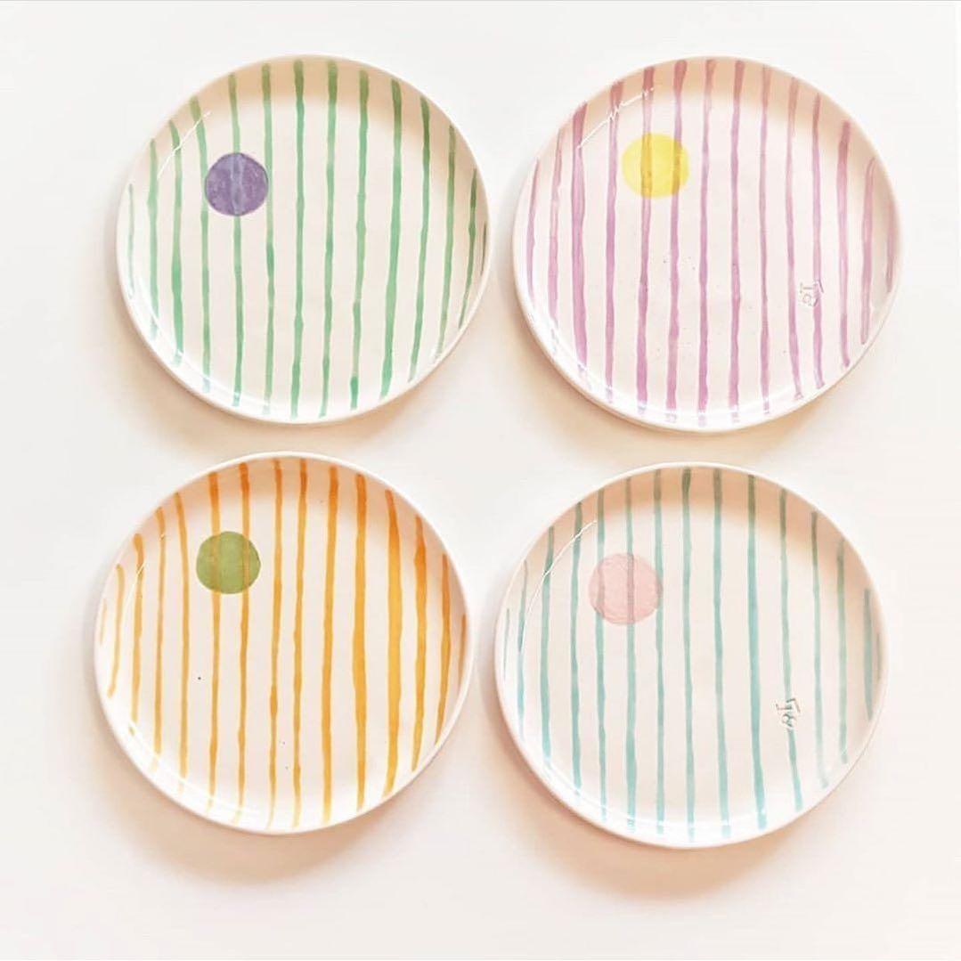 "Pottery Scout on Instagram: ""🍽 from @tomorrowdesignn 👨🏻🎨 . . . . . #ceramicplates #plates #potterylife #декорквартиры #potteryworks #ceramicglaze #керамист…"""