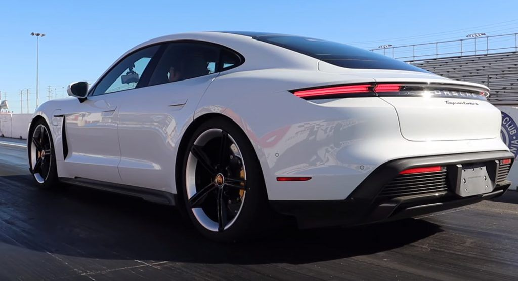 Porsche Taycan Turbo S Hits 60 Mph In 2 4 Seconds Quarter Mile In 10 5 Seconds Porsche Taycan Turbo S Porsche